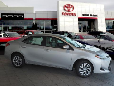New 2019 Toyota Corolla LE FWD 4dr Car
