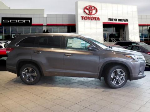 New 2019 Toyota Highlander Limited Platinum AWD Sport Utility