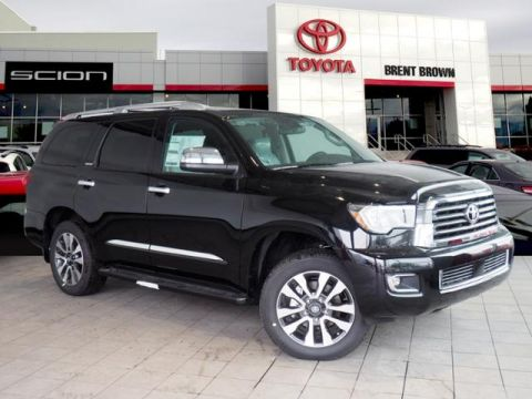 New 2019 Toyota Sequoia Limited 4WD Sport Utility