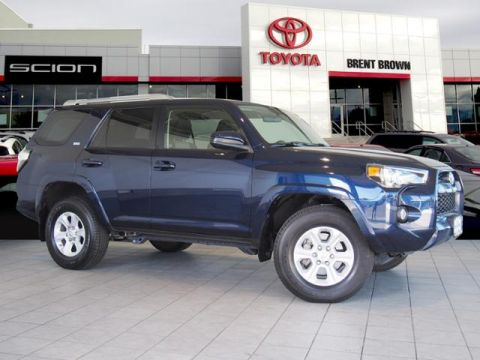 Certified Pre-Owned 2016 Toyota 4runner SR5 4WD Sport Utility