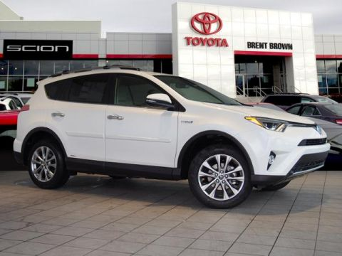 New 2018 Toyota RAV4 Hybrid Limited