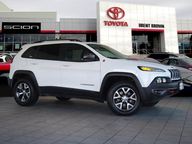 Preowned 2015 Jeep Cherokee Trailhawk Sport Utility In Orem