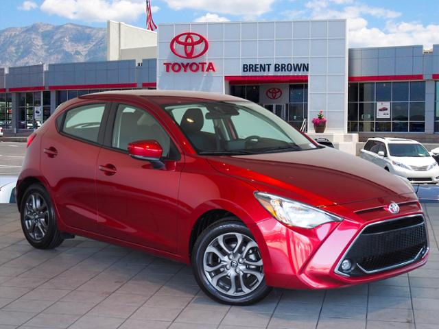 Certified Pre-Owned 2020 Toyota Yaris Hatchback LE