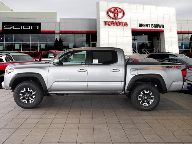 certified pre owned 2017 toyota tacoma trd off road double cab in orem u12324 brent brown toyota. Black Bedroom Furniture Sets. Home Design Ideas