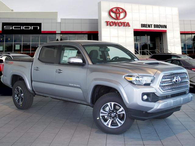 new 2017 toyota tacoma trd sport double cab in orem t45378 brent brown toyota. Black Bedroom Furniture Sets. Home Design Ideas