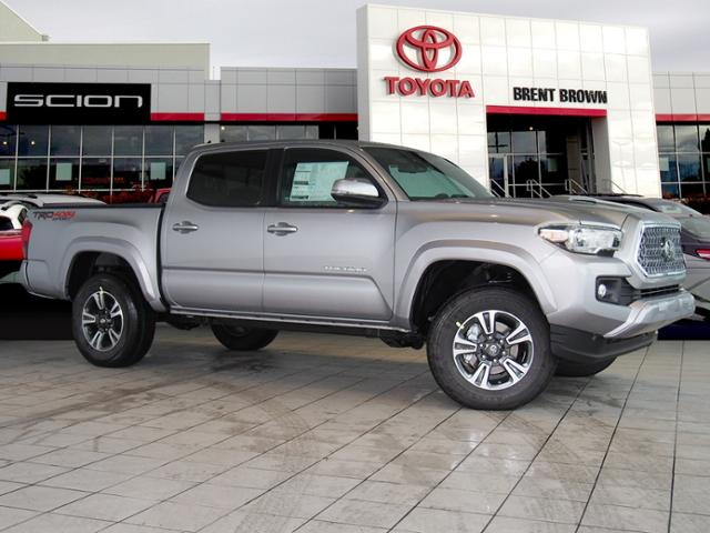 Toyota Tacoma Trd Sport >> New 2018 Toyota Tacoma Trd Sport Double Cab In Orem T48782 Brent