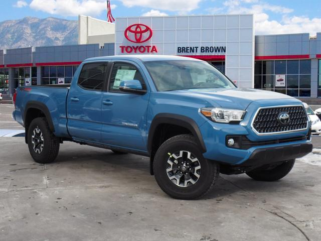 New 2019 Toyota Tacoma 4wd Trd Off Road Long Bed Double Cab In Orem