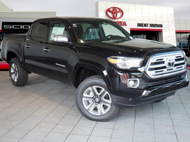 Toyota Tacoma Limited >> New 2018 Toyota Tacoma Limited Double Cab In Orem T49943 Brent