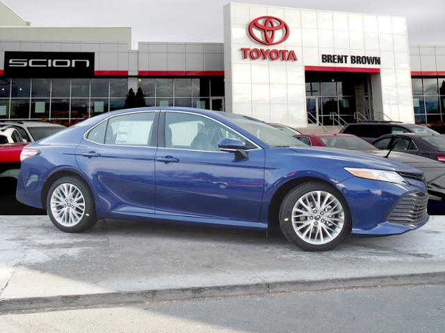 New 2018 Toyota Camry Xle V6 4dr Car In Orem T48258