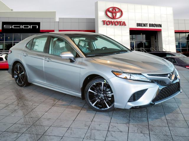 New 2019 Toyota Camry Xse V6 4dr Car In Orem T51286 Brent Brown