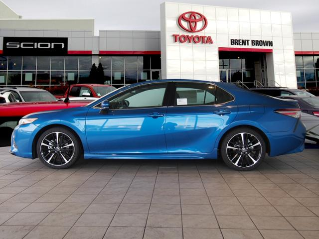 New 2018 Toyota Camry Xse V6 4dr Car In Orem T48441