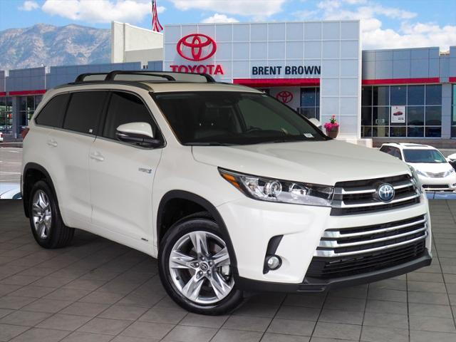 Certified Pre Owned 2018 Toyota Highlander Hybrid Limited