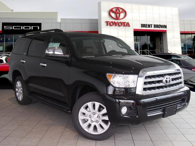 new 2017 toyota sequoia platinum sport utility in orem t45902 brent brown toyota. Black Bedroom Furniture Sets. Home Design Ideas