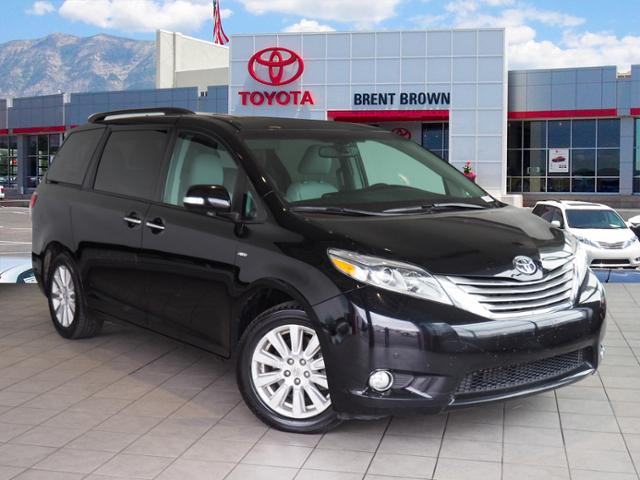 Certified Pre Owned 2017 Toyota Sienna Limited