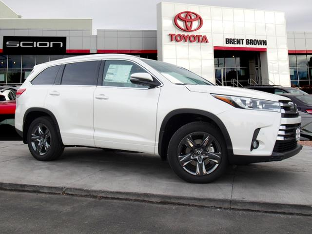 New 2018 Toyota Highlander Limited Platinum Sport Utility
