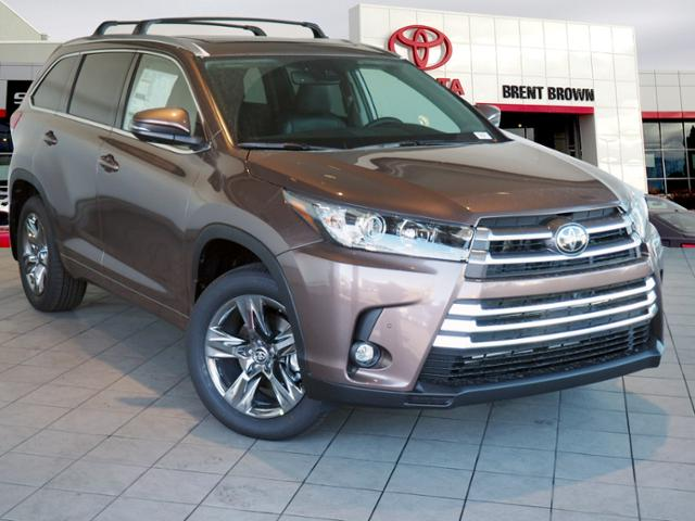New 2019 Toyota Highlander Limited Platinum Sport Utility In Orem