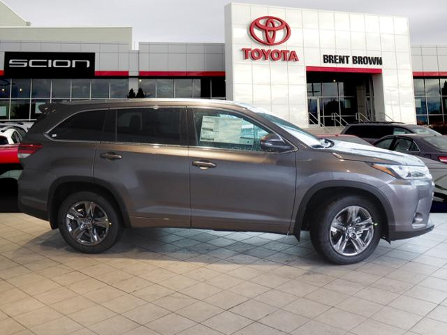 Toyota Highlander Limited >> New 2019 Toyota Highlander Limited Platinum Awd Sport Utility