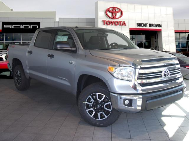 new 2017 toyota tundra 4wd sr5 w trd off road crewmax in orem t44079 brent brown toyota. Black Bedroom Furniture Sets. Home Design Ideas
