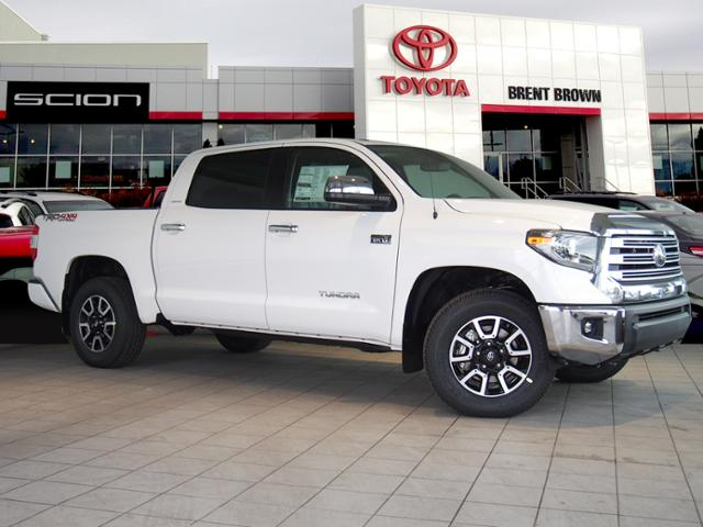 New 2018 Toyota Tundra 4wd Limited W Trd Off Road Crewmax
