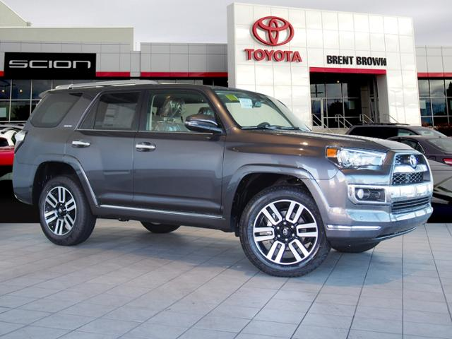 New 2018 Toyota 4runner Limited Sport Utility In Orem