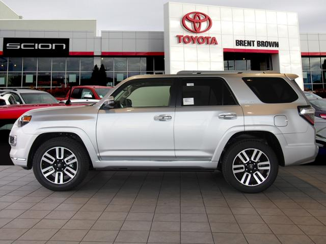 New 2018 Toyota 4runner Limited W Third Row Sport Utility