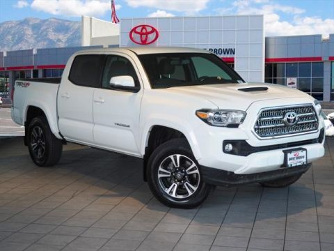 Certified Pre-Owned 2017 Toyota Tacoma TRD Sport